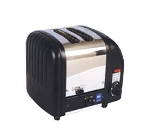 Cadco CTB2 Pop-Up Toaster, 2 Slice Bread, 1 or 2 Slot Selector Switch