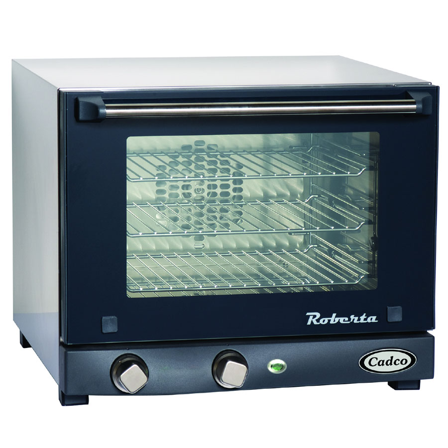 Cadco OV-003 Quarter-Size Countertop Convection Oven, 120v
