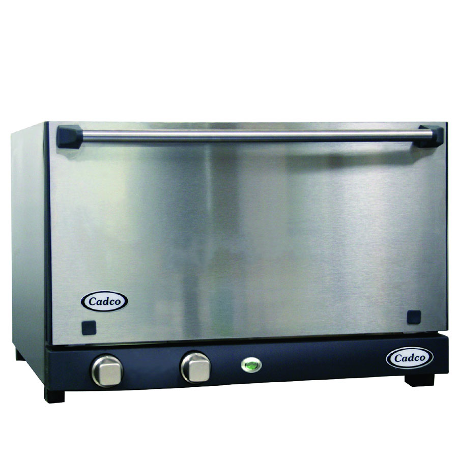 Cadco OV013SS Half-Size Countertop Convection Oven, 120v/1ph