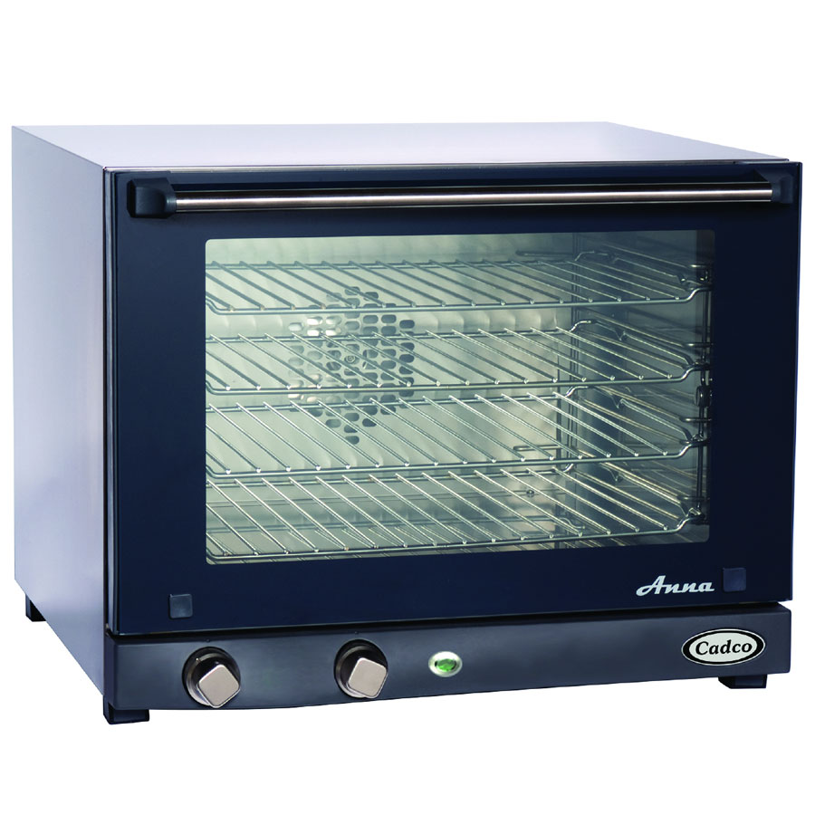 Cadco OV023 Half-Size Countertop Convection Oven, 208-240v/1ph
