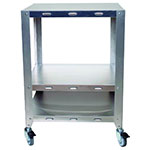 Cadco OVHDS Mobile Oven Stand For 2-Half Or Quarter Size Convection Ovens