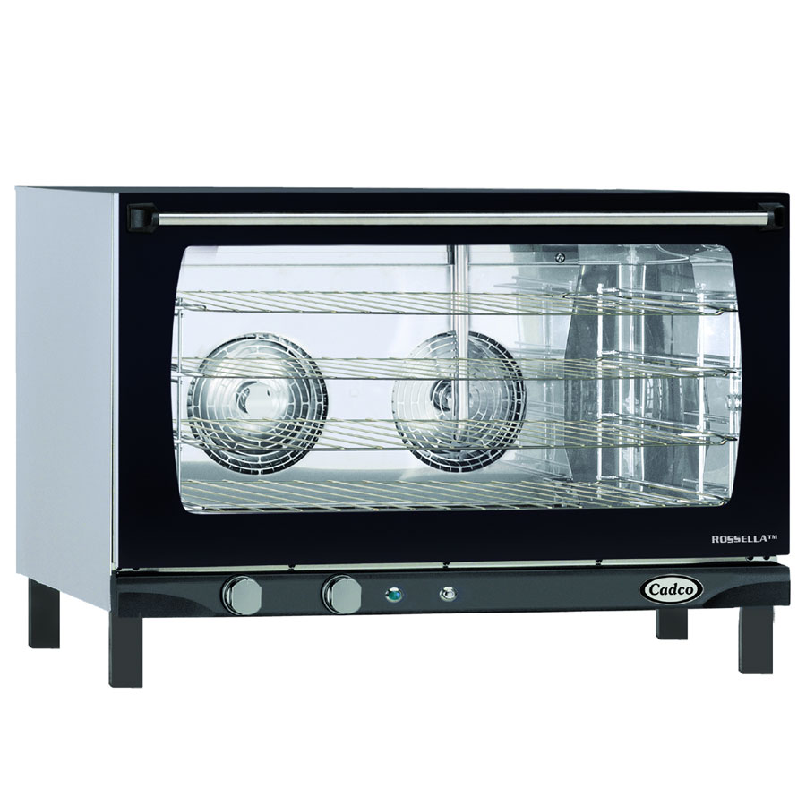 Cadco XAF-193 Full-Size Countertop Convection Oven, 208-240v/1ph