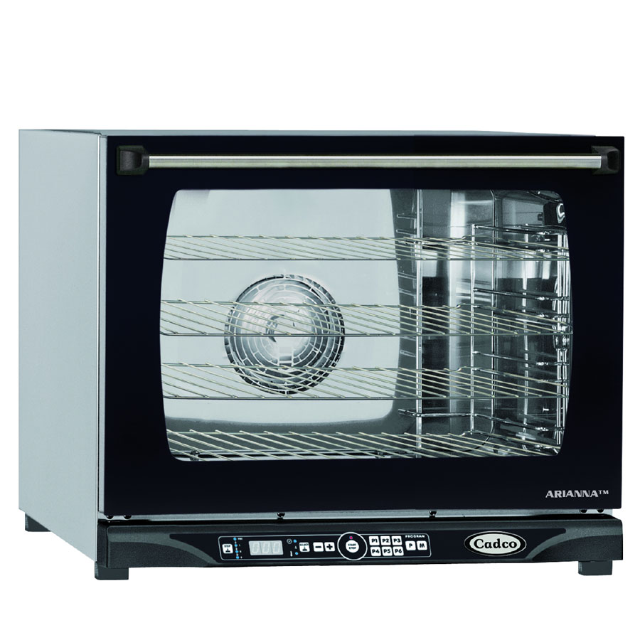 Cadco XAFT-130 Half-Size Countertop Convection Oven, 240v/1ph