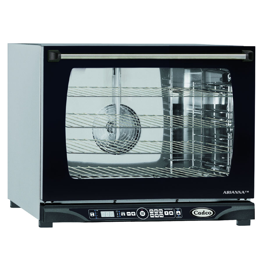Cadco XAFT-135 Half-Size Countertop Convection Oven, 208-240v/1ph