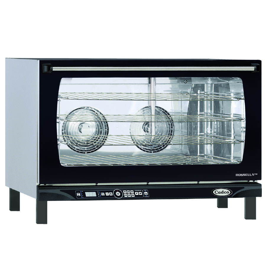 Cadco XAFT-195 Full-Size Countertop Convection Oven, 208/240v/1ph