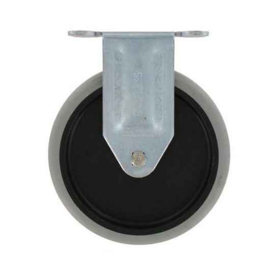 Special Made Goods & Services 4501L1 5-in Fixed Caster w/ Gray Tread For 4300, 4401, 4500-88