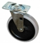 Special Made Goods & Services 4501L2 5-in Swivel Caster w/ Gray Tread For 4401, 4500-88, 4505, 4520-88