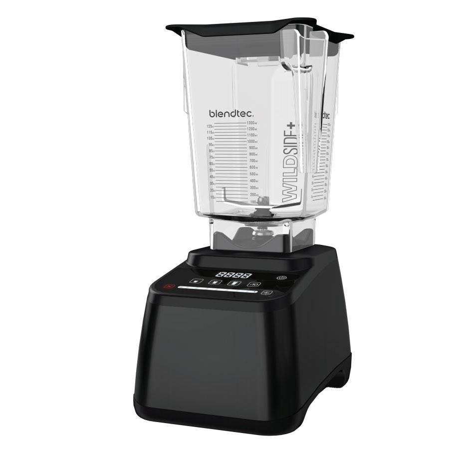 Blendtec D775C3901-A1GA1D Countertop Chef-775 Blender Package w/ (1) 90-oz WildSide Jar, Black, 120v