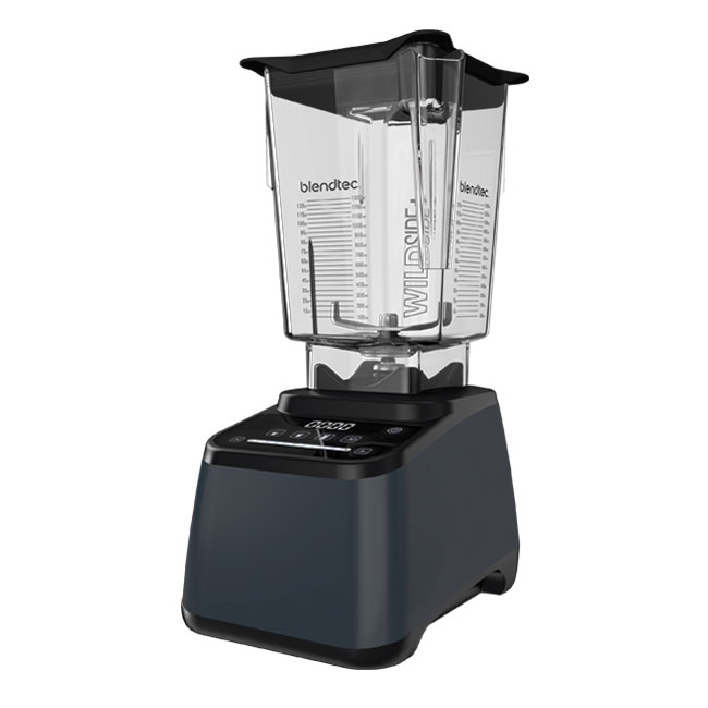 Blendtec D775C3914-A1GA1D Countertop Chef-775 Blender Package w/ (1) 90-oz WildSide Jar, Slate Grey, 120v