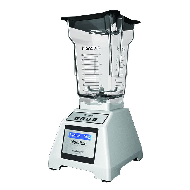 Blendtec E600A0823-A1GA1A Countertop Drink Blender w/ Polycarbonate Container, Programmable