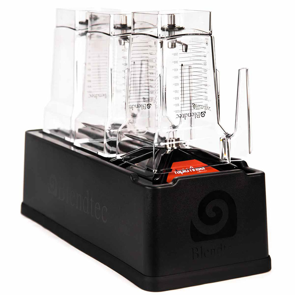 Blendtec RS Rapid Rinser Base w/ 2-Jar Drying Rack