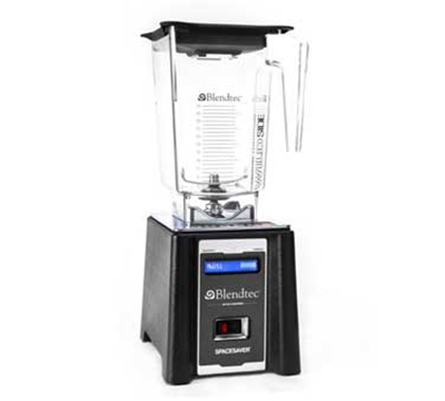 Blendtec SPACESAVERWST Countertop Blender SpaceSaver Package w/ 3-qt Wildside & 1-qt Twister Jars