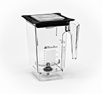 Blendtec WILDSIDE-H 3-qt WildSide Jar w/ Hard Lid & Wingtip Blade, Ounce & Cup Markings