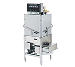 CMA CMA-180C Electric High Temp Door-Type Corner Dishwasher w/ Elevated Control Panel, 208v/3ph