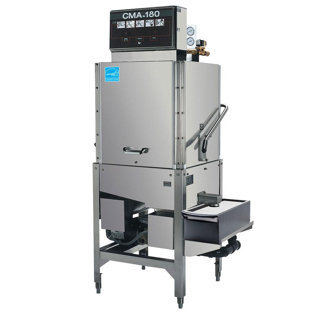 CMA CMA-180TCB Electric High Temp Door-Type Corner Dishwasher w/ Pot & Pan Washer, 208v/1ph
