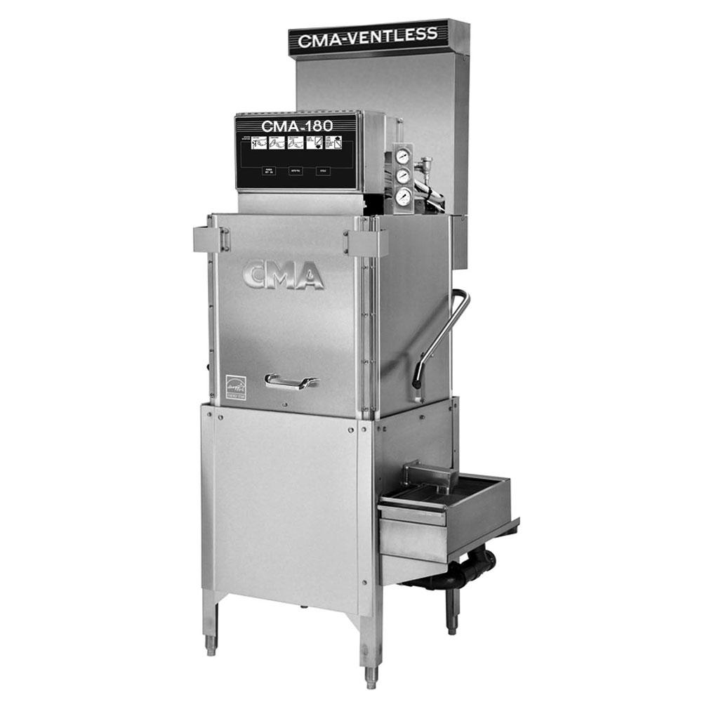 CMA CMA-180-VL Electric High Temp Door-Type Dishwasher w/ Booster Heater, 240v/1ph