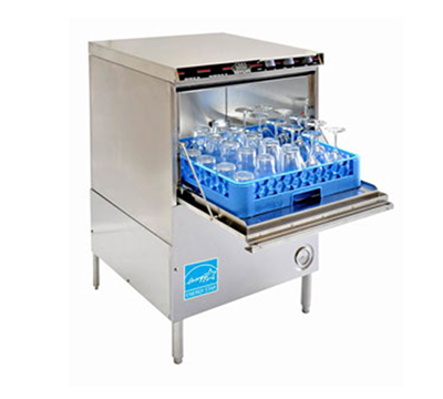 Cma CMA-181GW 2301 Glasswasher w/ Built-In Booster Heater & LED Gauges, 30-Racks per Hour, 230/1 V