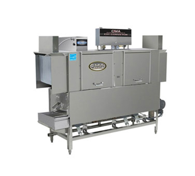 CMA EST-66L/R-L 2403 66-in Low Temp Conveyor Dishwasher, 243-Racks/hr, Right to Left, 240/3 V