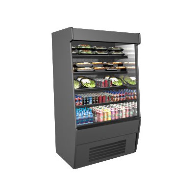 "Structural Concepts CO57R-E3 59.25"" Vertical Open Air Cooler w/ (5) Levels, 208-240v/1ph"