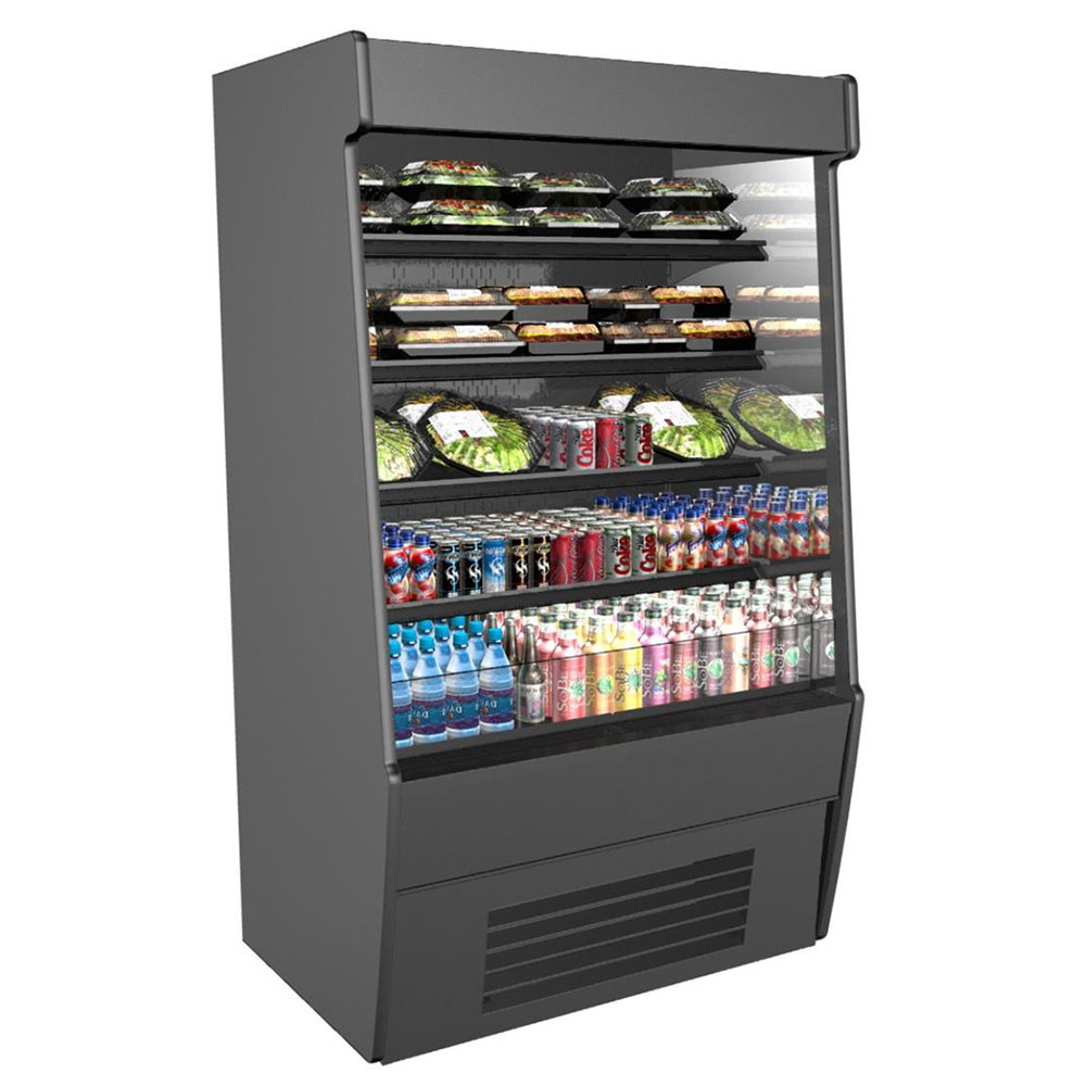 """Structural Concepts CO67R-E3 71.25"""" Vertical Open Air Cooler w/ (5) Levels, 208-240v/1ph"""