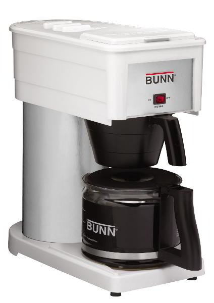 Bunn Home 38300.0046 BX Classic Home Brewer, 10 Cup, Decanter Included, White