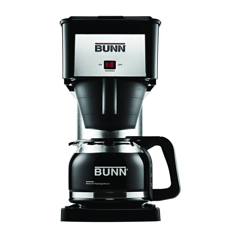 BUNN Home 38300.0067 BX Velocity Home Brewer, 10 Cup, Decanter Included, Black