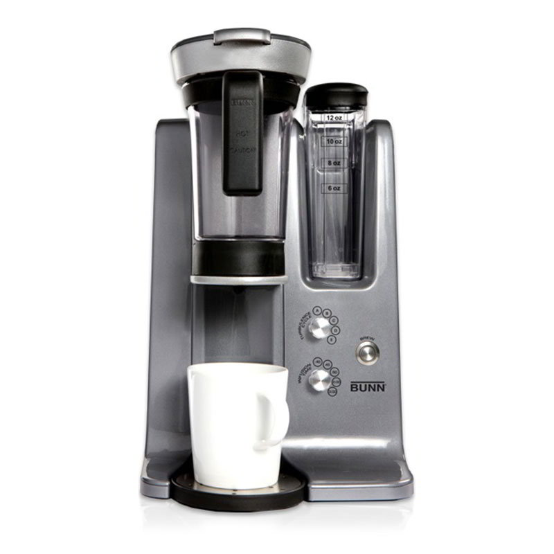 BUNN Home 43300.0000 trifecta® MB Single Cup Drip Coffee Maker w/ Adjustable Settings, Stainless