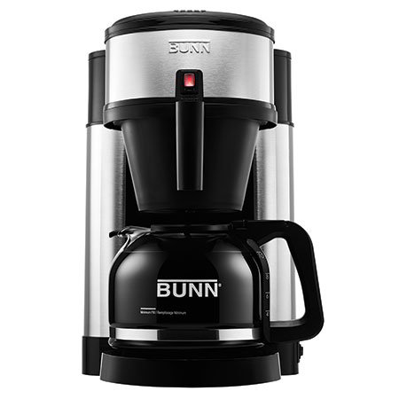 BUNN Home 44900.0102 10-Cup Velocity Brew Coffee Maker w/ Glass Carafe, Black