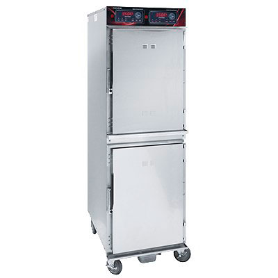 Cres Cor 1000-CH-SS-2DE Full Size Cook and Hold Oven, 208v/1ph