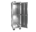 Cres Cor 100-1841D Mobile Transport Storage Cabinet w/ 40-Pan Capacity, Enclosed, Aluminum