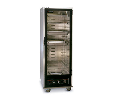 Cres Cor 121-PH-1818D Full Height Mobile Heated Cabinet w/ (18) Pan Capacity, 120v