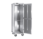 Cres Cor 150-1840D Mobile Enclosed Cabinet w/ 40-Pan Capacity, Full Height, Aluminum