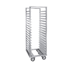 Cres Cor 207-1818-D Roll-In Refrigerator Rack w/ 18-Pan Capacity & Enclosed Base, Aluminum
