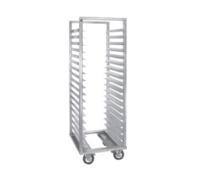 Cres Cor 207-1812 Mobile Utility Rack w/ 12-Pan Capacity, Full Height, Aluminum