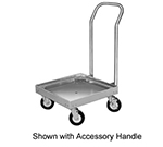 "Cres Cor 500-2020 Dish Rack Dolly for 20 x 20"" Racks, Single Stack, Aluminum"