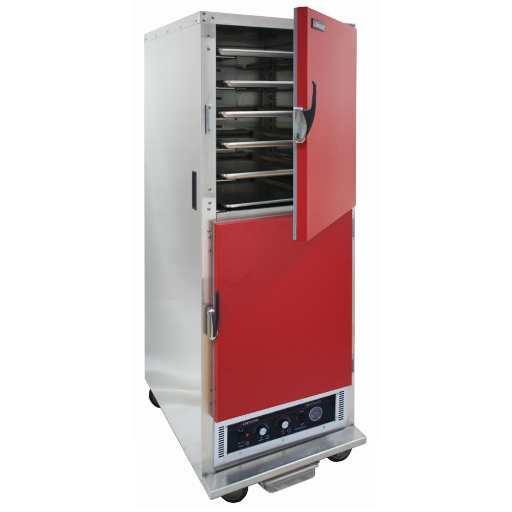 Cres Cor H-135-WSUA-11-R Full Height Mobile Heated Cabinet w/ (11) Pan Capacity, 120v