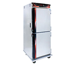 Cres Cor H-137-UA-12D 120 Mobile Heated Cabinet w/ 12-Chrome Slides, LED, Stainless, 1500-watts, 120 V