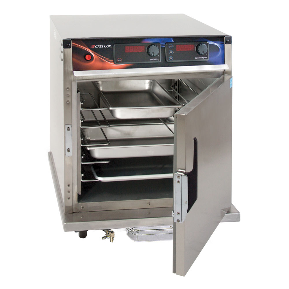 Cres Cor H-137-WSUA-5D Undercounter Mobile Heated Cabinet w/ (5) Pan Capacity, 120v