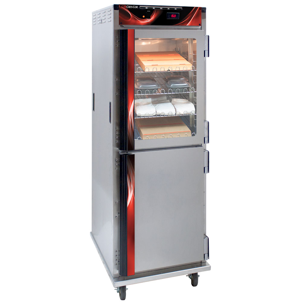 Cres Cor H-138-NPS-CC3MC5Q Full Height Mobile Heated Cabinet w/ (12) Pan Capacity, 120v