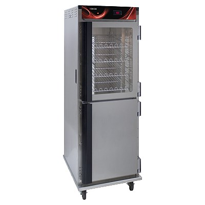Cres Cor H-138-NS-CC3MC5Q Full Height Mobile Heated Cabinet w/ (12) Pan Capacity, 120v