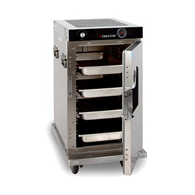 Cres Cor H-339-128C 1/2 Height Mobile Heated Cabinet w/ (8) Pan Capacity, 120v