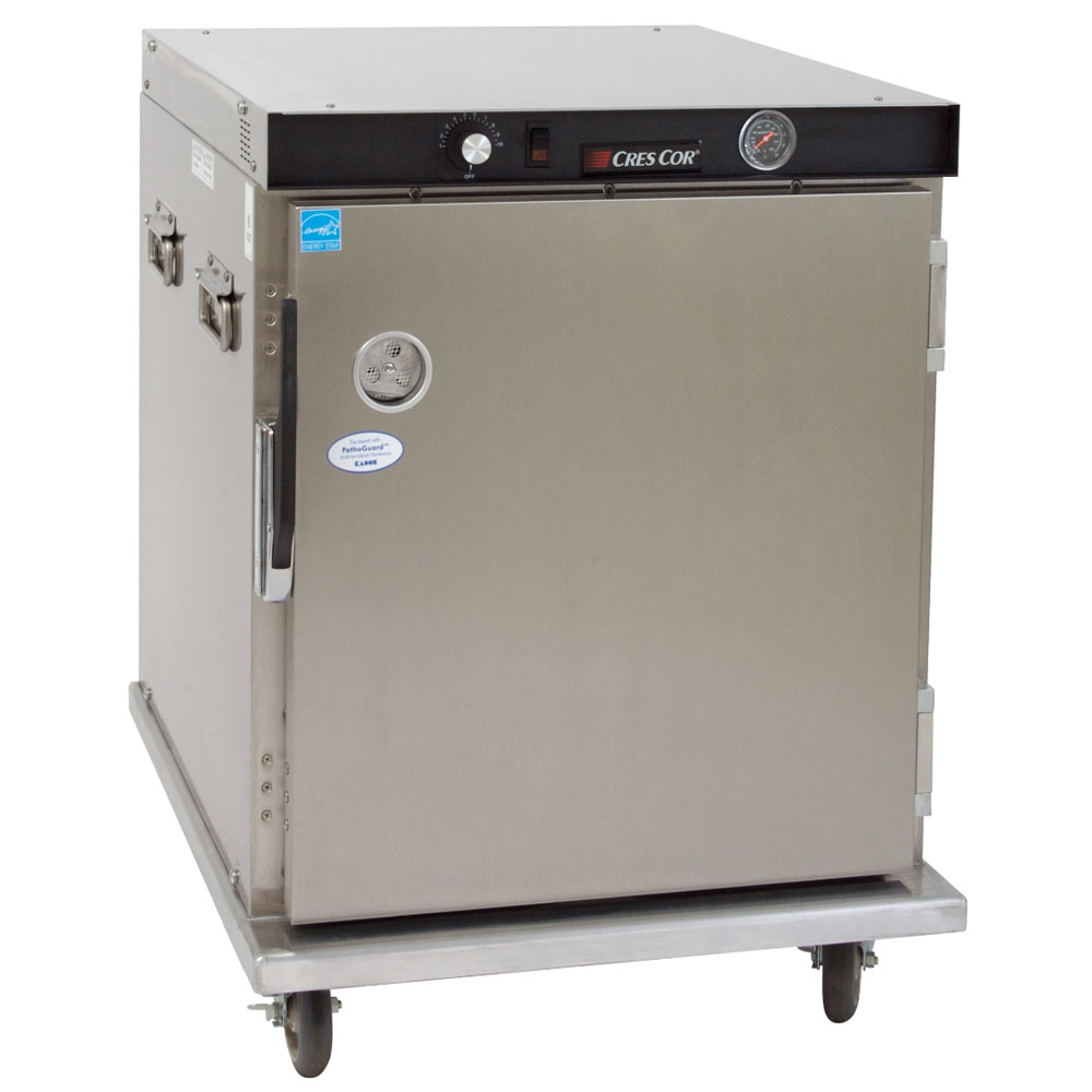 Cres Cor H-339-UA-8C 1/2-Height Mobile Heated Cabinet w/ (8) Pan Capacity, 120v