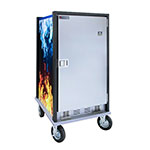 Cres Cor HC2-UA-11 3/4-Height Mobile Heated Cabinet w/ (11) Pan Capacity