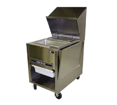 B.K.I. BT-24M Breading Work Table w/ Marinate Basket & Sifter Drawer, Lower Receiving Pan