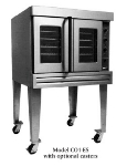 B.K.I. CO1-ES Full Size Electric Convection Oven - 208v/3ph
