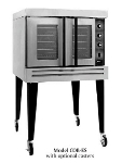 B.K.I. COB-ED Double Full Size Electric Convection Oven - 208v/3ph