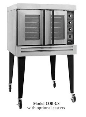 B.K.I. COB-GD Double Full Size Gas Convection Oven - NG
