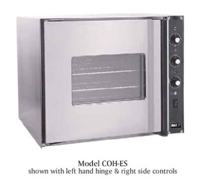 BKI COH-ES Half Size Electric Convection Oven - 220v/1ph