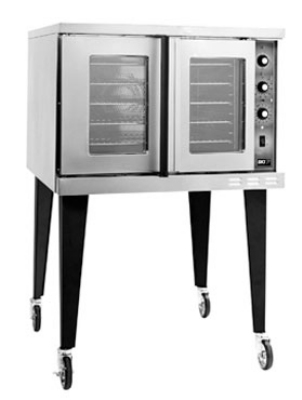 B.K.I. COM-ED Double Full Size Electric Convection Oven - 208v/1ph