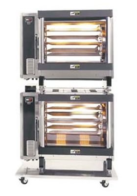 B.K.I. DR-34/2 Electric 5-Spit Commercial Rotisserie, 240v/1ph